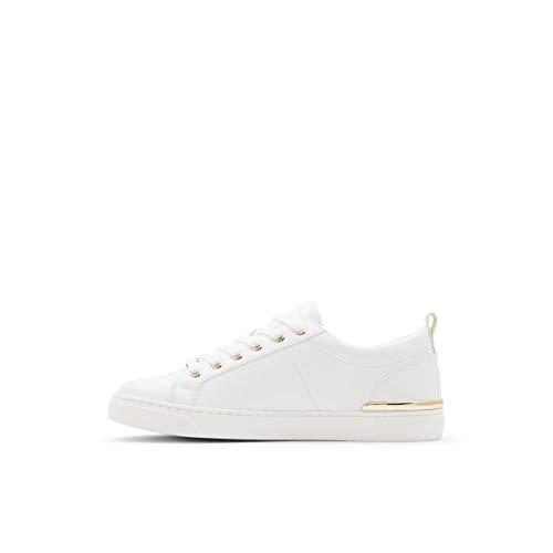 ALDO Women's Dilathiel Sneaker, White, 7