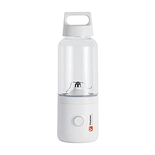 Exprimidor 2021 500ml 4000mAh Vitamin Portable Smoothie Blender Mini USB Mixer Exprimidor eléctrico Cargando Vitamer Fruit Juicer (Color : White)