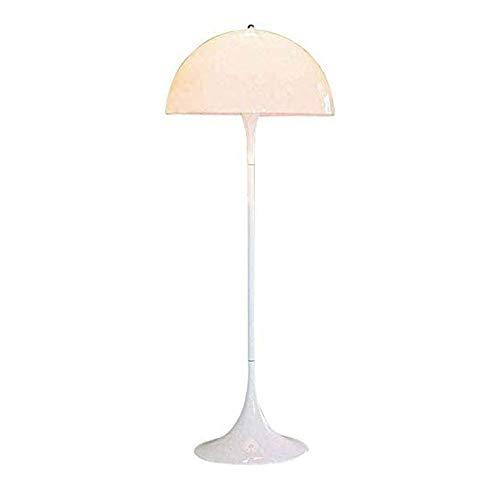 XYUN woonkamer, hotel, slaapkamer, staande lampen Nordic Art wit vloerlicht voor woonkamer slaapkamer 5W verwarmen helder helder leeslicht verticale vloerlamp