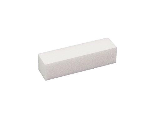 Bloc Polissoir/Buffer blanc Lot de 100- Nail Design Nail kit Buffer Buffer pour les ongles en gel