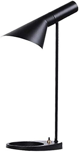 Lámpara De Escritorio De Metal Negro Luz De Escritorio De Diseño Minimalista De Moda E27 Dormitorio Lámpara De Lectura De Cabecera Sala De Estudio Sala De Estar Oficina Iluminación De Trabajo