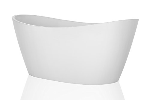 "Empava EMPV-FT1518 67"" Acrylic Freestanding Bathtub"