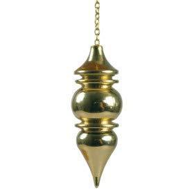 Péndulo Vénus plateado 4,4 cm para búsqueda(investigación) y adivinación