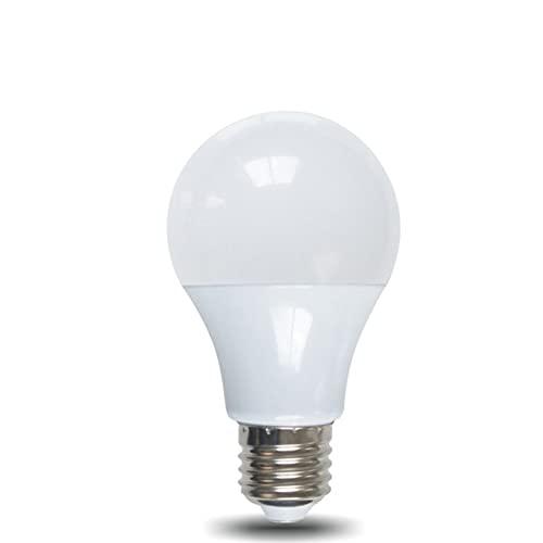 Tree-es-Life Sensor de inducción de Radar, luz E27, Detector de Movimiento, lámpara de Bombilla LED, Escalera, Pasillo, Pasillo, iluminación Nocturna, Blanco 12W