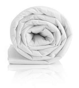 Bedding Heaven 3, THREE, 3.0 tog SINGLE SLIGHT SECONDS DUVET. Made by Fogarty - Lightweight quilt Ideal for Summer