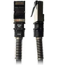 Patchsee patchkabel RJ45 Cat.6a UTP kabel, zwart, 2,1 meter
