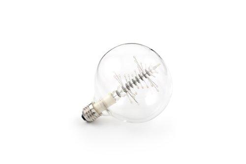 Konstsmide LED-lamp ster 7713-013 B: 12,5 cm H: 16,7 cm / E27 / 1x2 / 2W / Globe