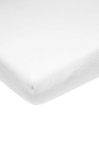 MEYCO Baby ** Protector de colchón transpirable Molton / algodón ** Transpirable + suave en diferentes tamaños (90 x 200 cm)