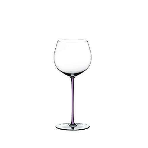 RIEDEL Fatto A Mano Oaked 4900/97V - Copa de Vino Blanco (Cristal, 620 ml), Color Morado