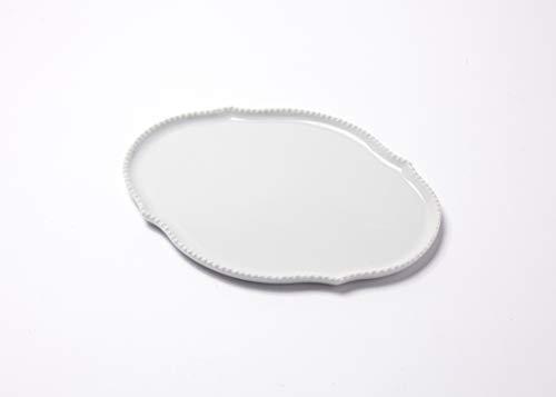 Reichenbach Porzellan Teller – Serie Taste von Paola Navone - 20 cm – Weiss