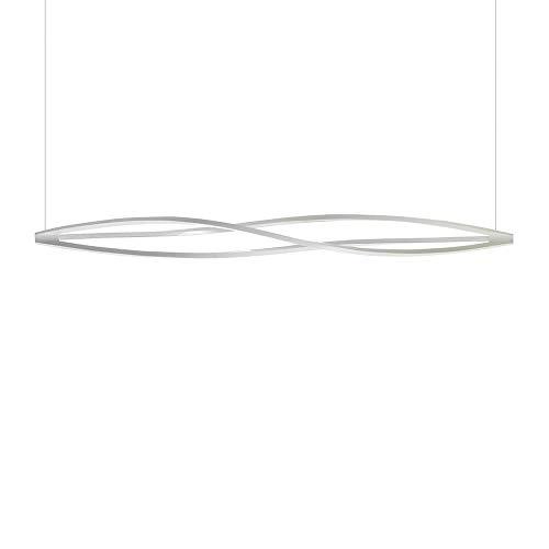 Nemo Lighting In The Wind Horizontal lampe suspendue blanche