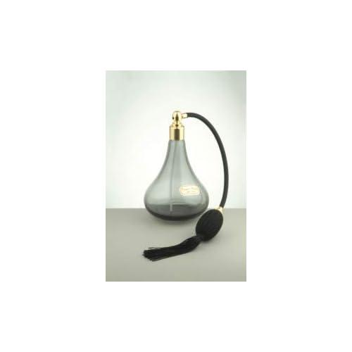 Martinoli Spruzzatore altro per Profumo in vetro di Murano, Nero Trasparente - 400 g