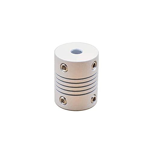 XBaofu Impresora 3D 1pc Los Accesorios del Motor de Pasos de aleación de Aluminio Z Eje Flexible Acoplamiento del acoplador órganos de Acoplamiento 5 mm * 8mm 5mmx5mm (tamaño : 3mm to 4mm)