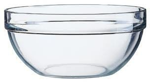 6 x 3.5' Small Arcoroc Relish Sauces,Dipping,Jam,Chutney ect... bowls for any condiments Clear glass bowls