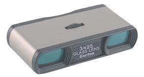 Gemelo de ópera o teatro de 3X y objetivo de 25mm. Gemelo 3X25 Glass Lens. Producto fabricado en Japón. Prismáticos ópera o teatro. Carton Optical Industries Ltd. M. 3X25