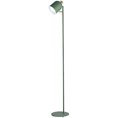 XHH Stehlampe, LED Stehleuchte Moderne Leselampen Metall für Arbeitszimmer, Wohnzimmer und Schlafzimmer, Lampenkopf verstellbar, E27 Lampe HOL (Simple Retro wild)