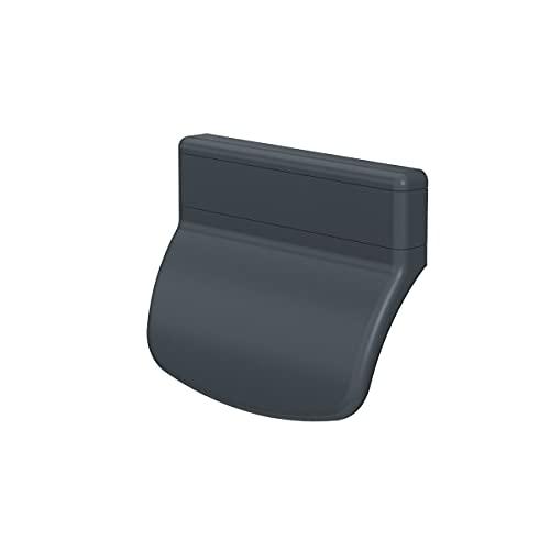 MS Beschläge® Balkontürgriff Terassentürgriff Ziehgriff aus Kunststoff in verschiedenen Farben (Anthrazit - RAL 7016)