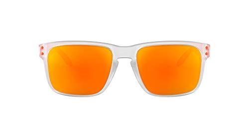 Oakley Holbrook Gafas de sol, Transparente, 57 para Hombre