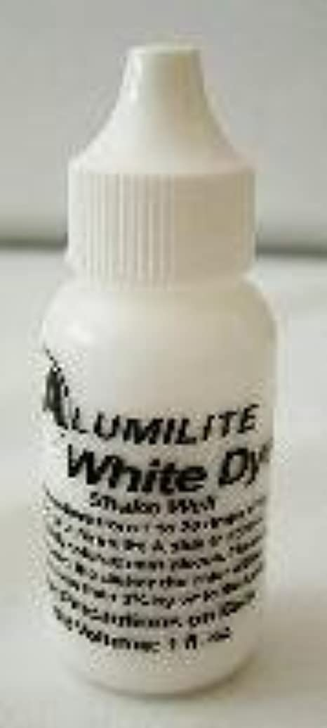 Alumilite Colorant Single Color Liquid Pigment Dye White