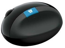Microsoft L6V-00004 Sculpt Ergonomic Mouse, Nero