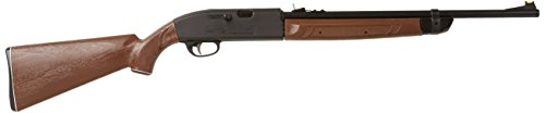 Crosman 2100 Classic Single-Shot Bolt Action Variable Pump .177-Caliber Pellet And BB Air Rifle 2100B-N, Brown/Black