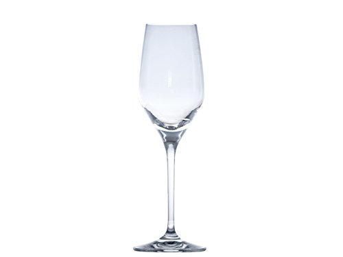 Cristal de Sèvres Arpèges Set de Verres de Champagne, Verre, 7 x 7 x 21.5 cm, Lot de 2