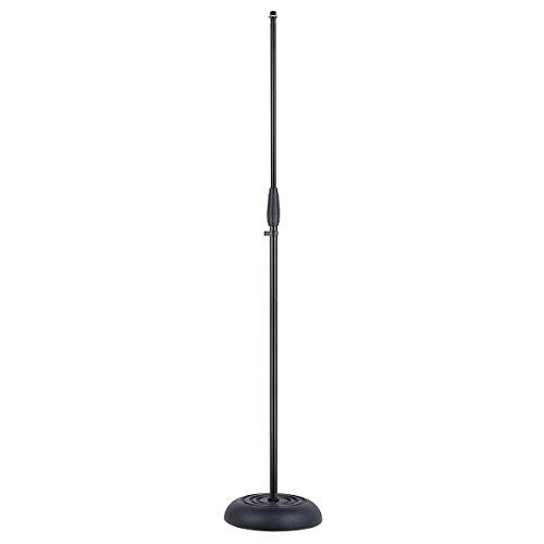 SOUNDSATION - Asta microfonica dritta con base in ghisa