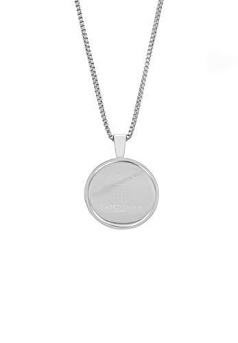 Tateossian TALISMANIC Amulet - Collar de acero (70,6 cm)