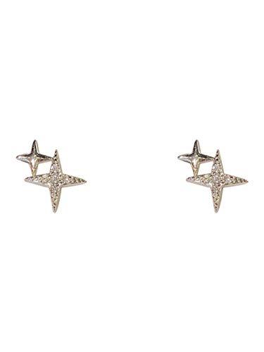 Kleine oorlel geschikt oorstekers vrouwelijkheid persoonlijkheid eenvoudige lieve sterretjes oorbellen prachtige kleine oorbellen