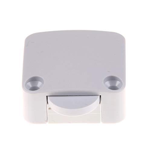 Interruptor basculante 1 / 2PCS Interruptor de reinicio automático 202A Interruptor de control de la puerta de la luz del vestuario para el interruptor de la luz del armario del gabinete del mueble de