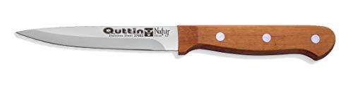 Cuchillo de Cocina Chef de 11cm MAngo de Madera Natural Quttin-Natur