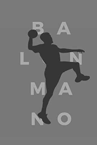 Balonmano: 110 Páginas para Planificar tus Entrenamientos de Balonmano   Regalo Perfecto para Entrenadores de Balonmano o Handball   Creado por Amantes del Balonmano