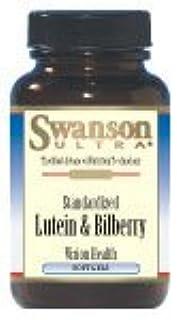 Standardized Lutein & Bilberry 6/20 mg 120 Sgels