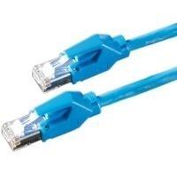 Kerpen E5–70PIMF Patch Cable CAT6, Blue, 0.5m 0.5m Blue Networking Cable–Networking Cables (Blue, 0.5m, 0.5m, Blue)