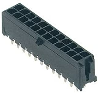 MOLEX 43650-0625 PLUG & SOCKET CONNECTOR, HEADER, 6POS, 3MM
