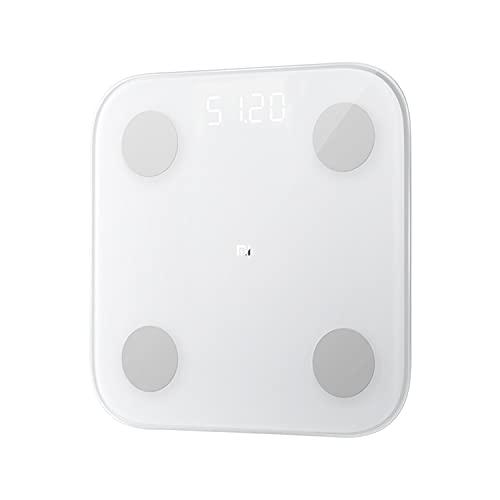 【日本正規代理店品】 Xiaomi Mi スマート体組成計2 体重計 Smart Scale 2 高精度 スマホと連動可能 シャオミ Mi スマート スケール 2 健康管理 ヘルスメーター ダイエット フィットネス 多項指標 iPhone/Androidアプリで管理 収納便利 使用簡単