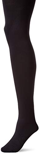 HUE Women's Plus Size Blackout Tights with Control Top, Assorted, black, 4