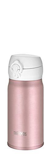 THERMOS 4035.284.035 Thermosflasche Ultralight, Edelstahl Mat Rosé Gold 0,35 l, extrem leicht, nur 165 g, 10 Stunden heiß, 20 Stunden kalt