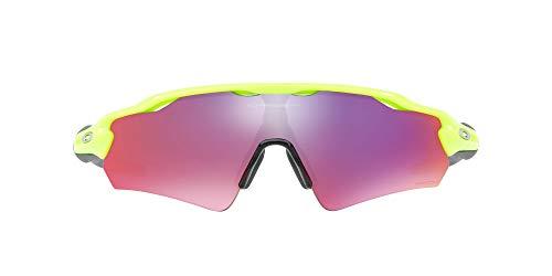 Oakley OO9275 Radar EV Path Asian Fit Gafas de sol rectangulares para hombre, RETINA Burn, 35 mm