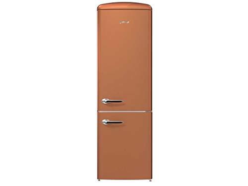 Gorenje ONRK193CR Autonome 307L A+++ Cuivre réfrigérateur-congélateur - Réfrigérateurs-congélateurs (307 L, SN-T, 8 kg/24h, A+++, Nouvelle zone compartiment, Cuivre)