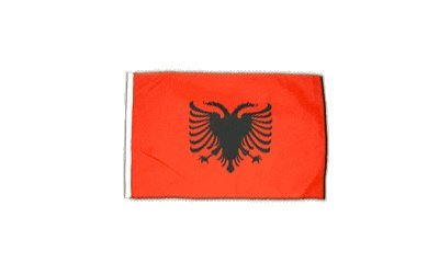 Fahne Flagge Albanien 30 x 45 cm