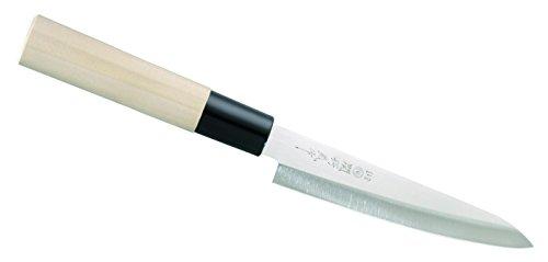 Herbertz Japanisches Kochmesser, Petty Messer, grau, M