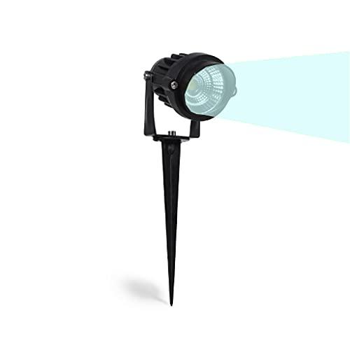 Partenopeautensili® Faretto a led cob da esterno segnapassi per giardino orientabile 5w 450 lumen luce...