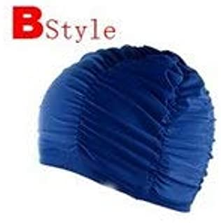 BEESCLOVER Ms. Swimming Cap Oversized Long Ear Comfortable and Stylish New spa Cap Swimming Equipment Color Optional