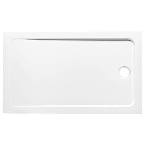 Jacob delafon flight - Plato ducha rectangular suelo 120x70x4 blanco