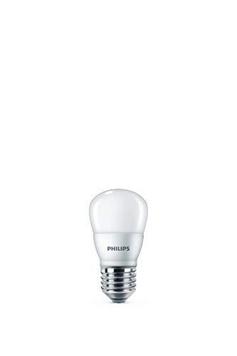 Philips LED Lampe, Tropfenform, ersetzt 15W, E27, Warmweiß (2700 K), 150 Lumen, matt