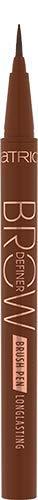 Catrice Brow Definer Brush Pen Longlasting, Nr. 030 Chocolate Brown, braun, definierend, langanhaltend, natürlich, vegan, Nanopartikel frei, ohne Parfüm (0,7ml)