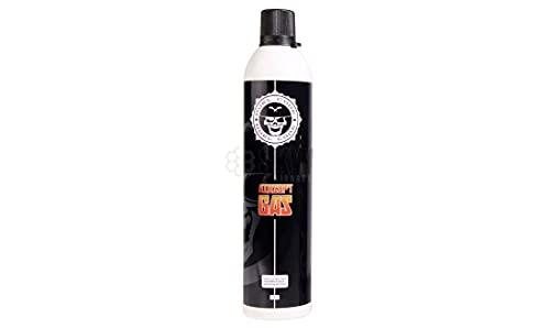 Botella Green Gas Airsoft Pistolas 600 ml Duel Code. Gas Normal para Pistolas de Airsoft de Cualquier Marca