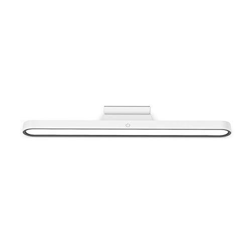 Lámpara De Escritorio LED, (protección para Los Ojos, Puerto USB, 3 Modos, 3 Niveles De Brillo, Función De Memoria) [Clase De Eficiencia Energética A ++] Lámpara De Mesa,Ligero (Color : White)
