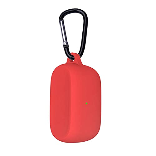 AIHOME Funda protectora de silicona para auriculares Jabra Elite 3, auriculares deportivos inalámbricos para funda de carga protectora
